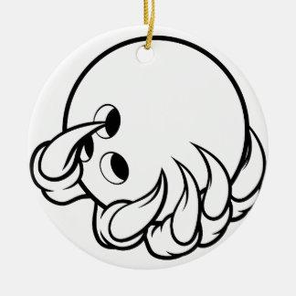 Monstertiergreifer, der zehn Button-Bowlings-Ball Keramik Ornament