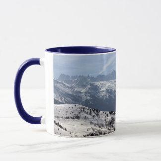 Mont Blanc Parorama Tasse