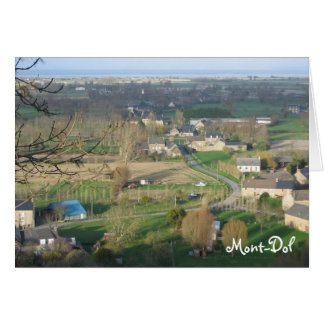 Mont-Dol, Karte Bretagne Frankreich