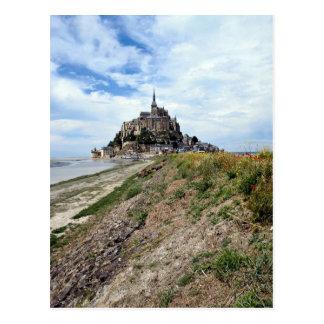 Mont-Heilig-Michel, Normandie, Frankreich Postkarte