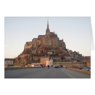 Mont Saint-Michel, Frankreich Karte