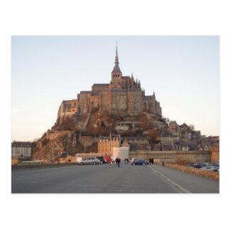 Mont Saint-Michel Postkarte