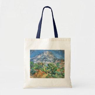Mont Sainte Victoire über Tholonet, Paul Cezanne Tragetasche