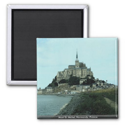 Mont St. Michel, Normandie, Frankreich Magnets