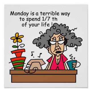 Montag-Spaß Poster