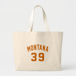 Montana 39 Geburtstags-Entwürfe Jumbo Stoffbeutel