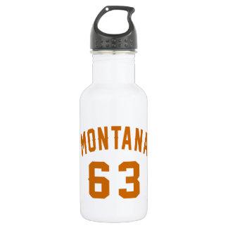 Montana 63 Geburtstags-Entwürfe Trinkflasche