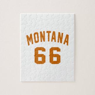 Montana 66 Geburtstags-Entwürfe Puzzle