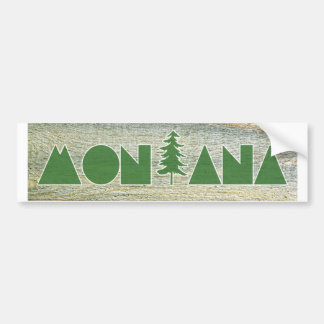 Montana Autoaufkleber