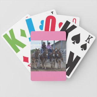 Montana-Maultier-Tage Bicycle Spielkarten