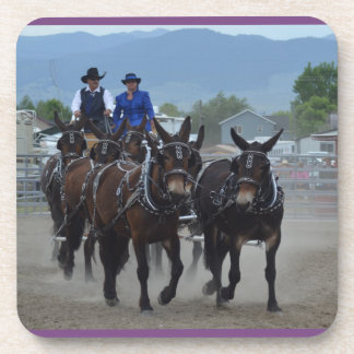 Montana-Maultier-Tage im Juni 2016 Untersetzer