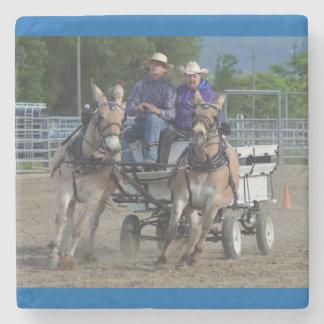 Montana-Maultier-Tage Steinuntersetzer