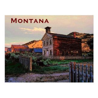 Montana-Postkarte Postkarte