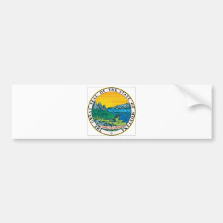 Montana-Staats-Siegel Autoaufkleber