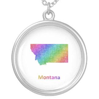 Montana Versilberte Kette