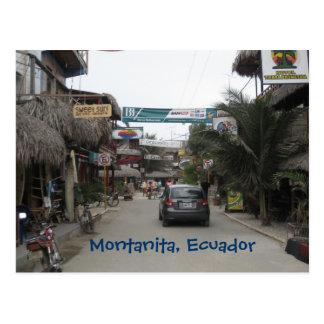 Montanita, Ecuador Postkarte