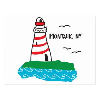 Montauk Leuchtturm Postkarte