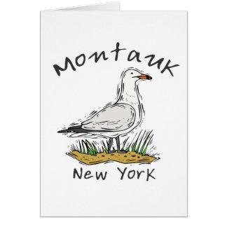 Montauk, NY Karte