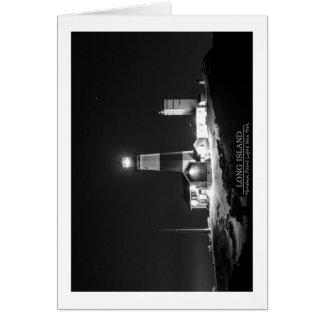 Montauk Punkt-Leuchtturm Karte