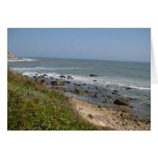 Montauk Strand-Liebe Karte