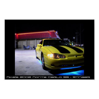 Monte Carlo 2002 SS Posterdruck