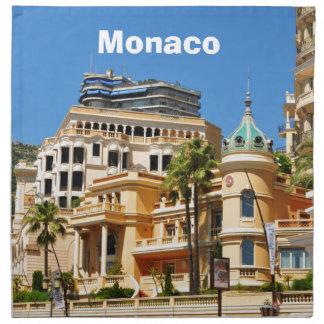 Monte Carlo in Monaco Stoffserviette