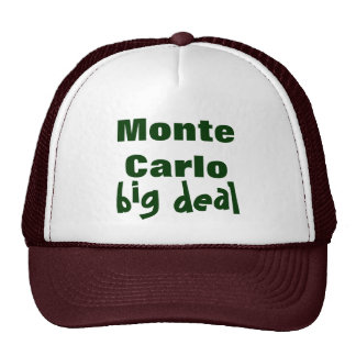 Monte Carlo Retromütze