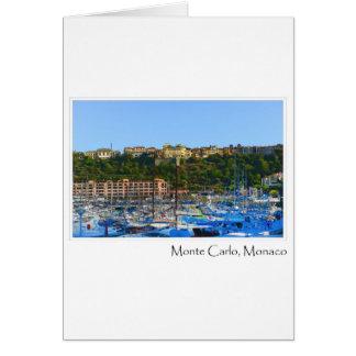 Monte Carlo Monaco Karte