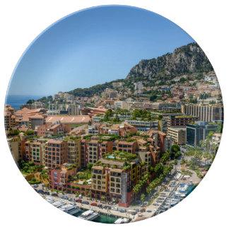 Monte Carlo Monaco Porzellanteller