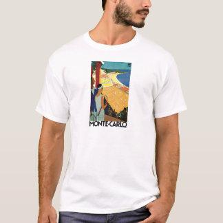 Monte Carlo Monaco Vintage Reise T-Shirt