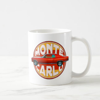 Monte Carlo orange Schale 1970 Kaffeetasse
