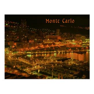 Monte Carlo Postkarte