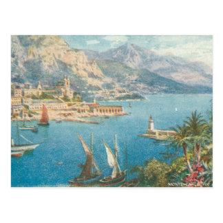 Monte Carlo Seeansicht Postkarte