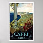 Montecatini Toskana Italien Vintage Reise Posterdrucke