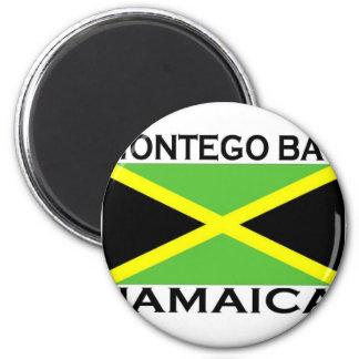 Montego Bay, Jamaika Runder Magnet 5,7 Cm