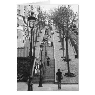 Montemarte, Paris-Fotokarten Karte