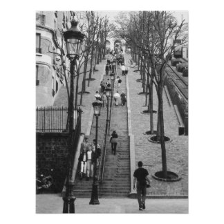 Montemarte, Paris-Plakat Poster