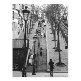 Montemarte, Paris-Postkarte Postkarte