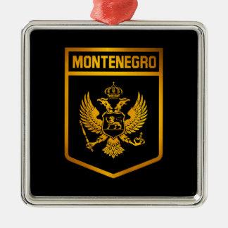 Montenegro-Emblem Silbernes Ornament