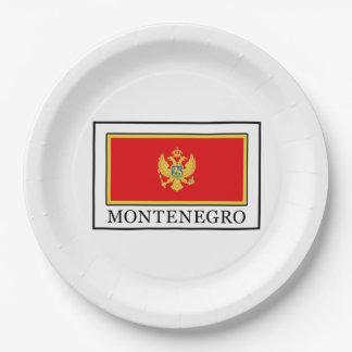 Montenegro Pappteller