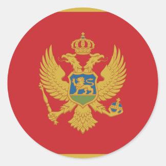 Montenegro Runder Aufkleber