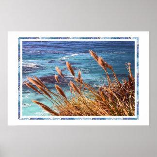 Monterey-Bucht-Plakat Poster