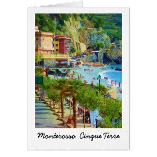 Monterosso, Cinque Terre Italien Karte