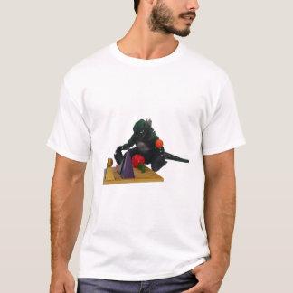Montessaurus u. Grammatik-Körper-T - Shirt