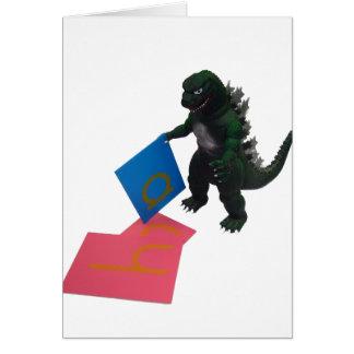 Montessaurus u. mitteilungskarte