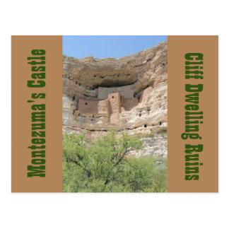Montezumas Schloss ruiniert Arizona-Postkarte Postkarte
