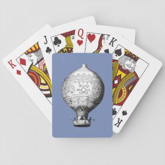 Montgolfier Vintager Heißluft-Ballon Spielkarten