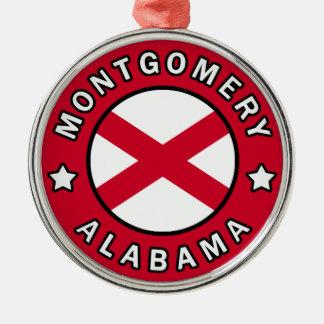 Montgomery Alabama Silbernes Ornament