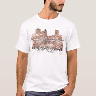 MONTGOMERY, ALABAMA SKYLINE - der T - Shirt der