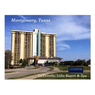 Montgomery, Texas ~ LaTorretta See-Erholungsort u. Postkarte